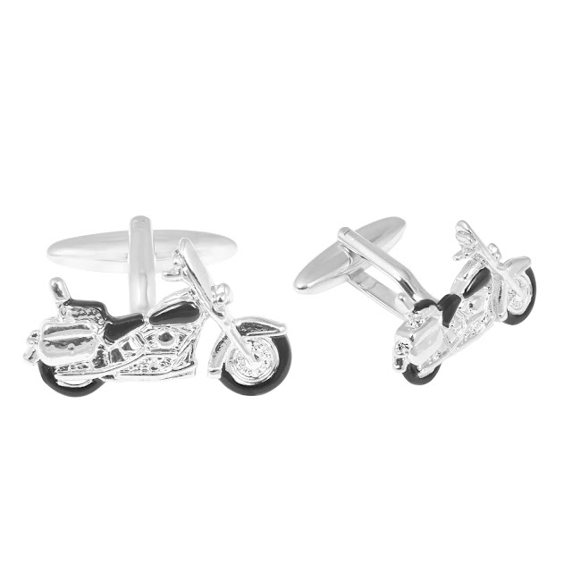 Motor Cycle Cufflink by shazé. Price- Rs. 1,690