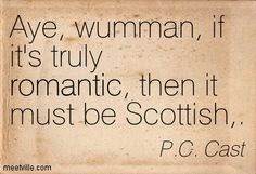 Scottish proverb