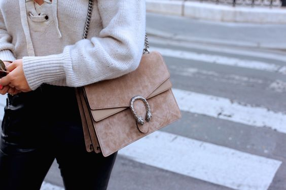 Isabel Marant Lace Up Seater + Tan Suede Gucci Dionysus Bag