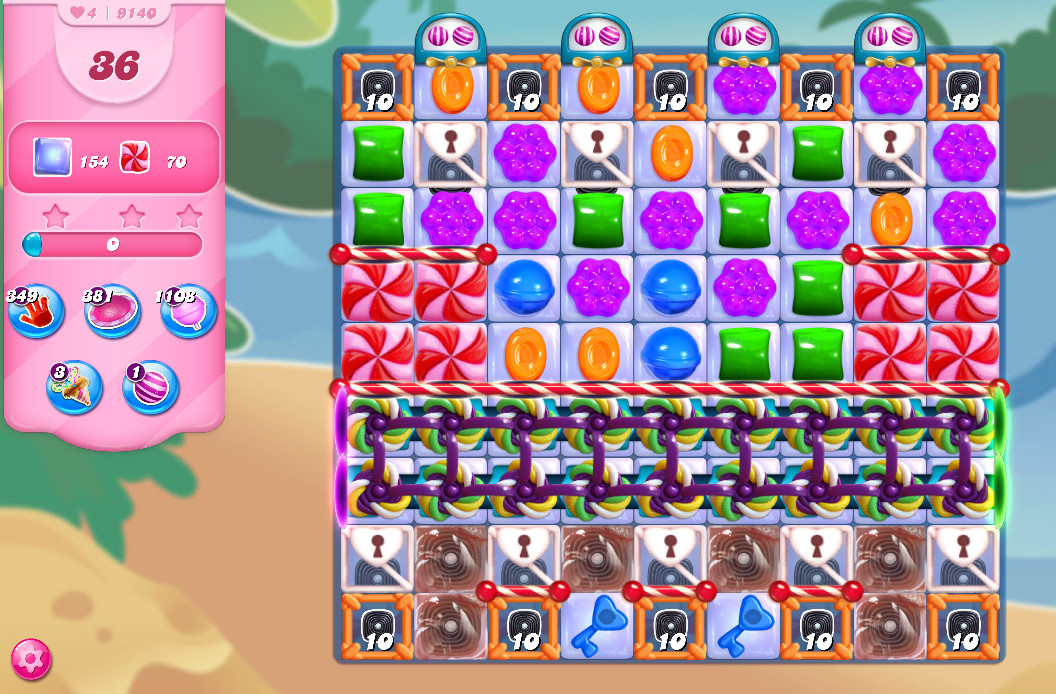 Candy Crush Saga level 9140