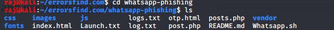 How to hack WhatsApp just a link - WhatsApp-phishing