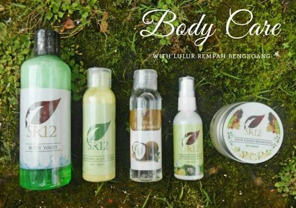 Body Wash SR12 Skincare Sabun Cair Pencerah Kulit Serta Sabun Badan SR12 Herbal
