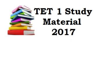TET 1 Exam Material in Gujarati Free Download PDF