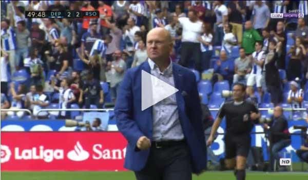 Video Derportivo 2 : 4 Real Sociedad