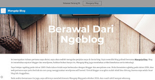 Cara Gampang Membuat Blog Dan Website Di Google Site