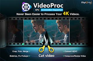 برنامج معالجة فيديو فور كي