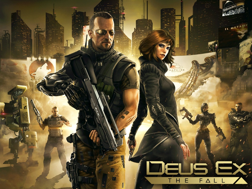 Deus Ex The Fall Download Poster