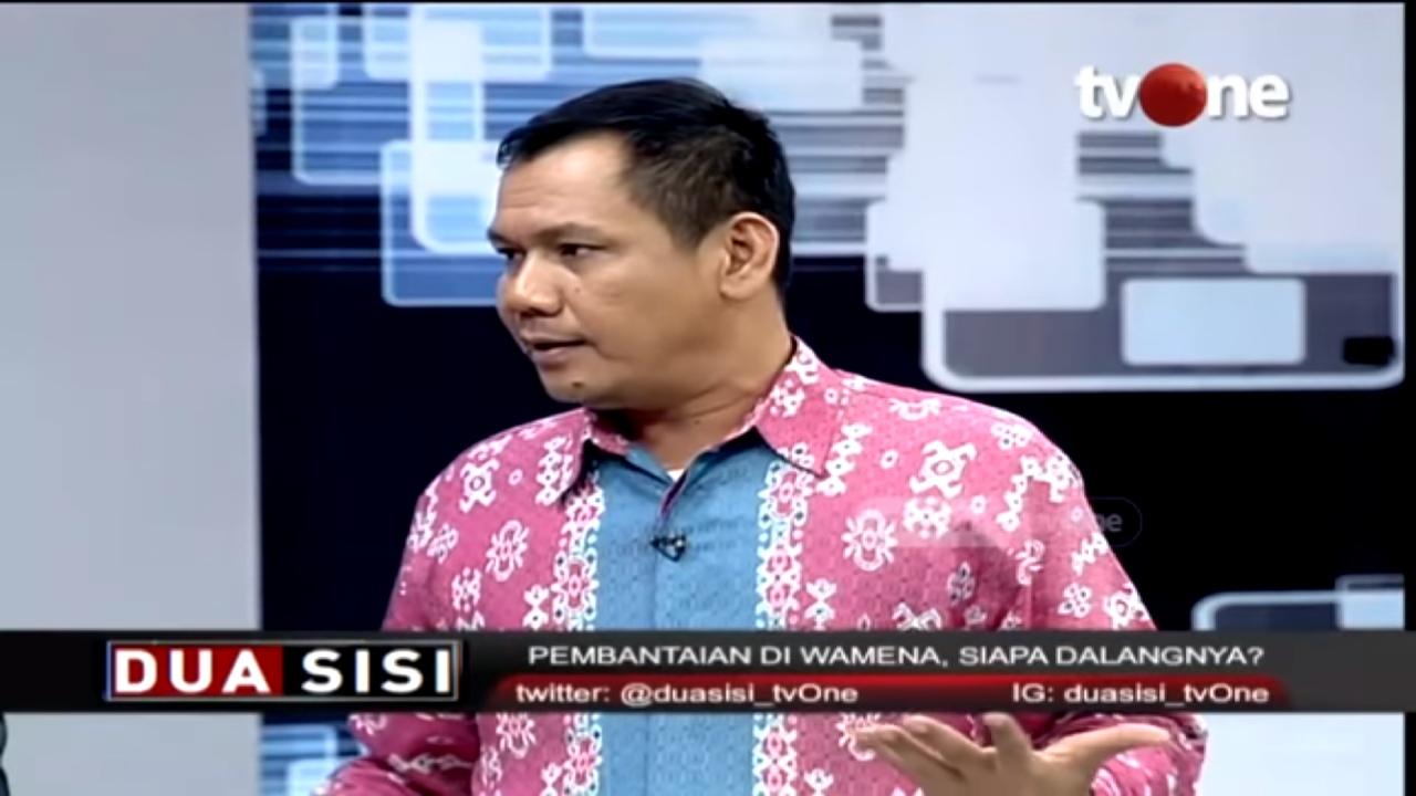 Blak-Blakan Soal Dalang Tragedi Wamena, Indra J Piliang: Identifikasi Aktornya