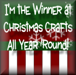 gagnante chez Chistmas Craft All Year Round