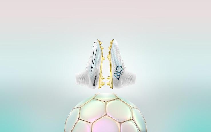 Cristiano Ronaldo Botas Balón Oro