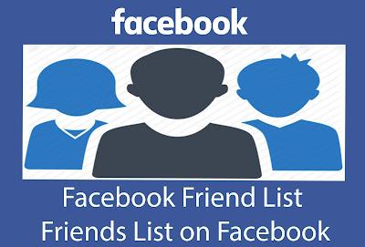 How Do I Create Facebook Friend List - Edit Facebook Friend List - View Facebook Blocked list