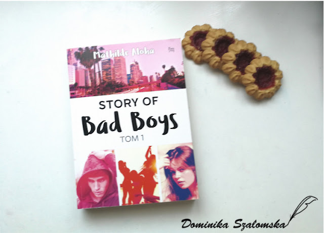 "#191 Recenzja książki ""Story of Bad Boys"" Mathilde Aloha"