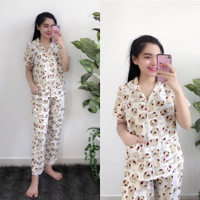 Bộ pijama tay ngắn quần dài siêu đẹp