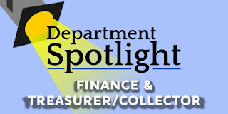 Department Spotlight: Finance Department and the Treasurer/Collector