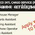 Vacancies In Sri Lanka  TRANS CO INTL CARGO SERVICE (PVT) LTD