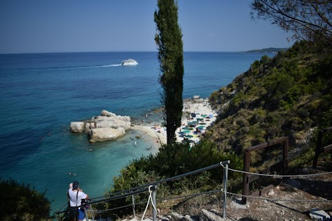 Little Xigia natural sulfur spa in Zakynthos
