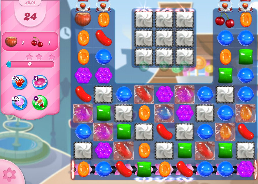 Candy Crush Saga level 2934