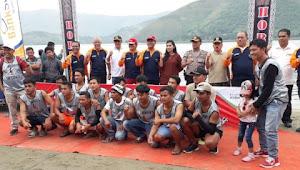 21 Tim Perebutkan 75 Juta Pada Kejuaraan Solu Bolon Dragon Boat di Samosir