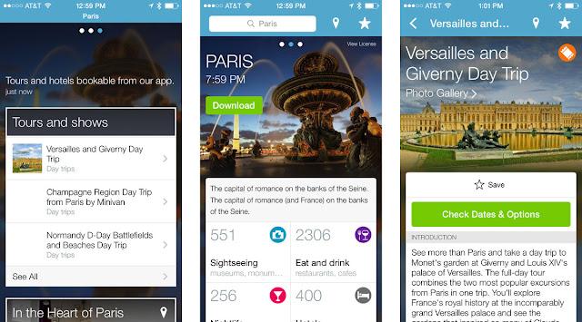 Triposo; aplikacja; app; travel app