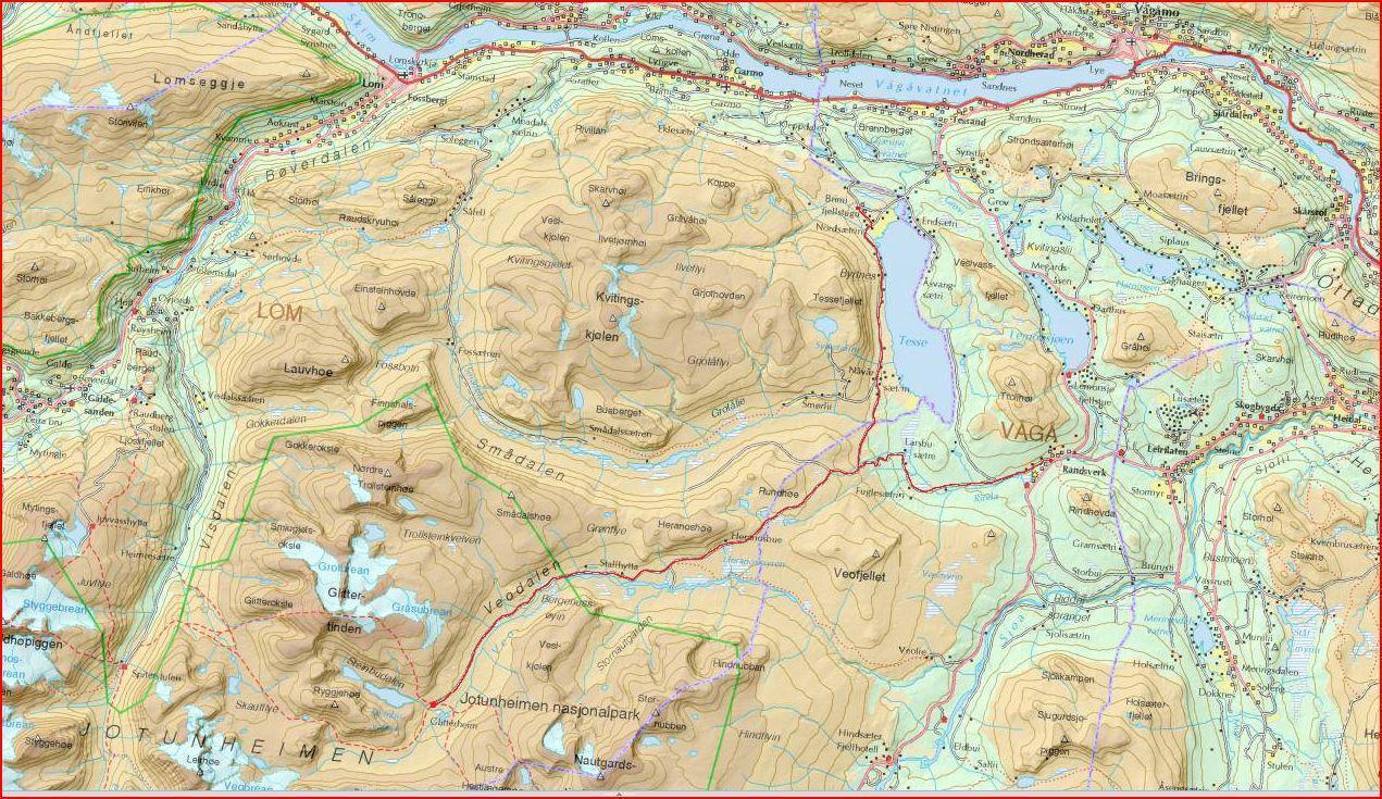 bøverbreen kart Fjellfører Kjell Nyøygard: mai 2011 bøverbreen kart