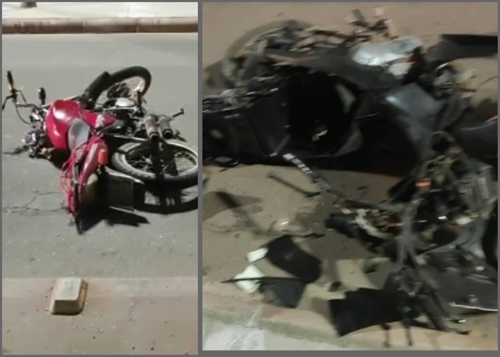 Acidente de moto na PA-160, mata um homem e deixa outro em estado grave, em Parauapebas.