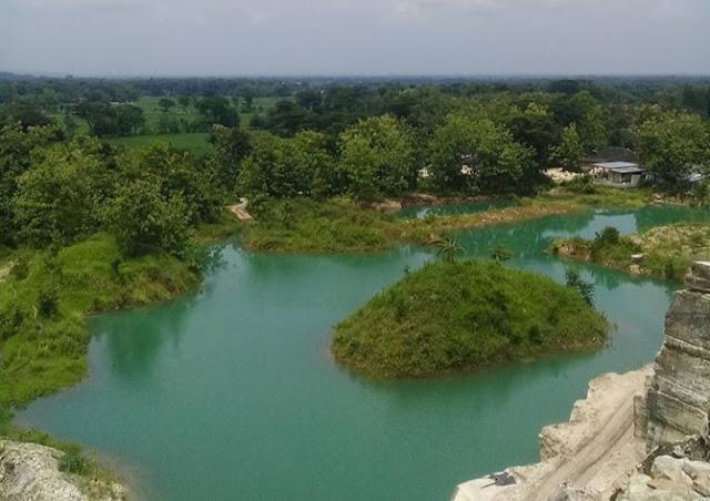 TELAGA BIRU SEMIN GunungKidul Spot Instagramable, Yogyakarta