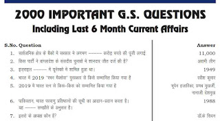 GK Question Answer