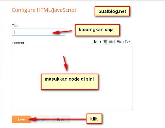 halaman kosong wiget HTML/JavaScript