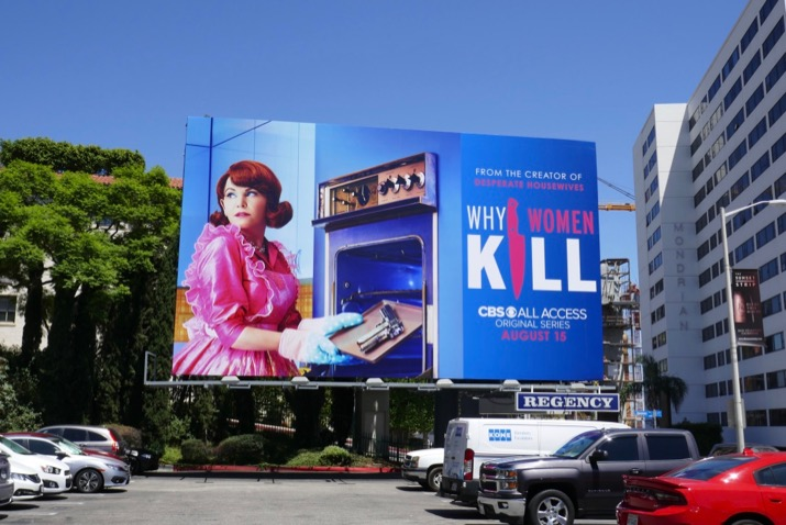 Why Women Kill CBS All Access series billboard
