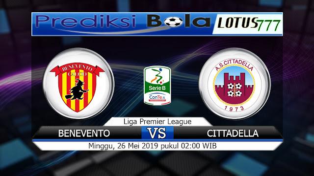 Prediksi Benevento vs Cittadella Minggu 26 Mei 2019