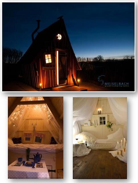Schlafplatz im Märchenhaus