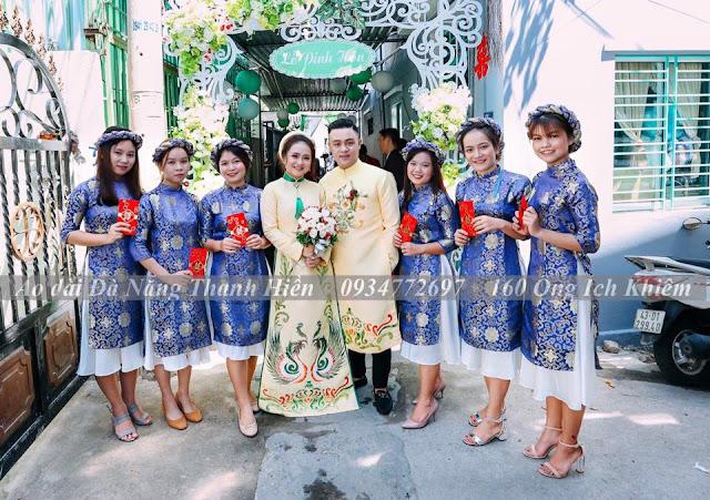 Địa chỉ thuê áo dài truyền thống, cách tân tại Đà Nẵng