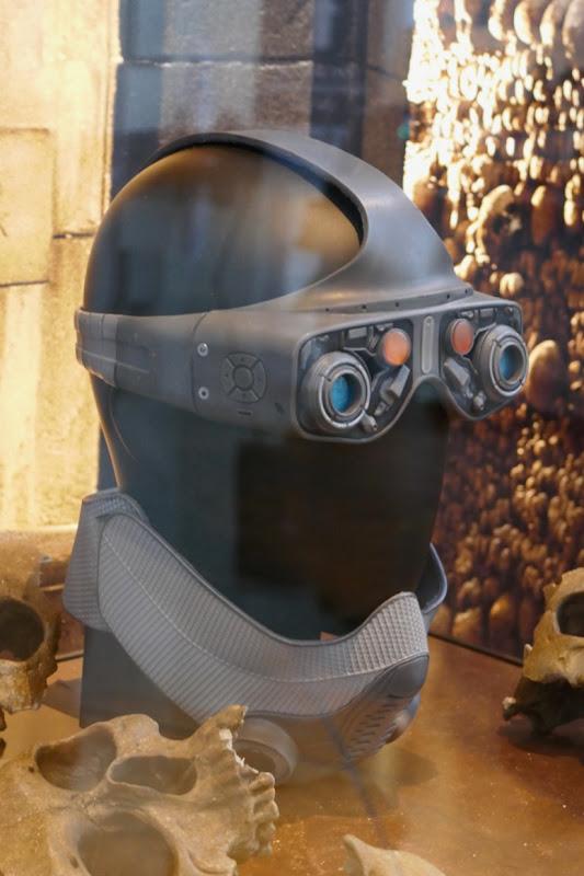 Gemini Man goggles gas mask