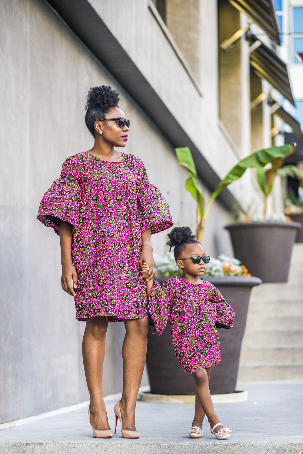 Mommy and Me Fashion moment with Visionworks