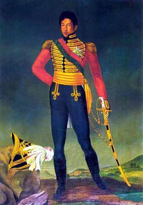 Il re Radama I segue le orme di suo padre, Andrianampoinimerina, amico dell'Occidente.