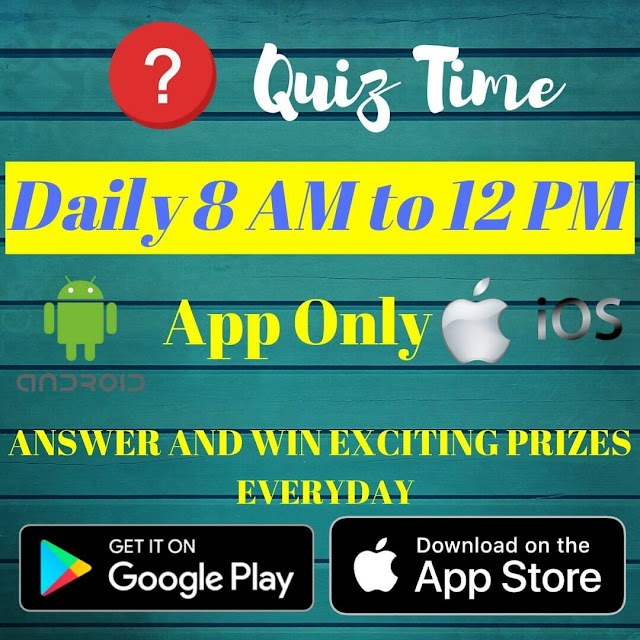 [Quiz Answers] Today's Amazon Quiz Answers and Win Huge Prizes