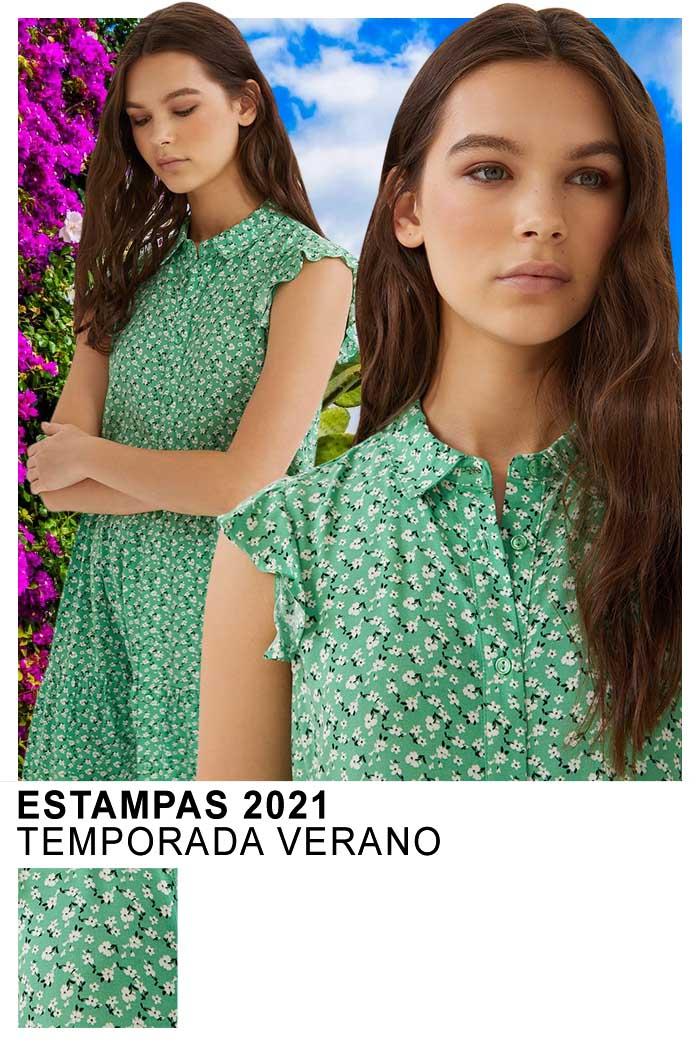 Ropa de mujer verano 2021 moda estampas 2021