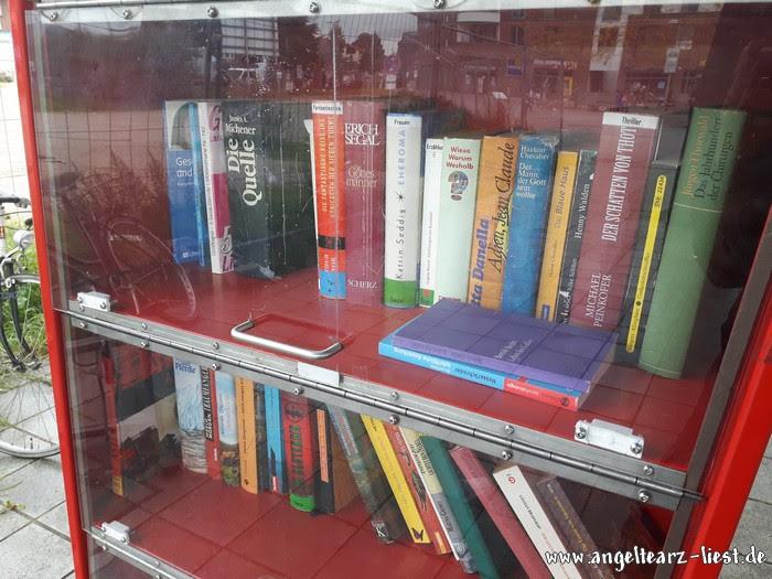 Auswahl im Bücherschrank Kaltenkirchen
