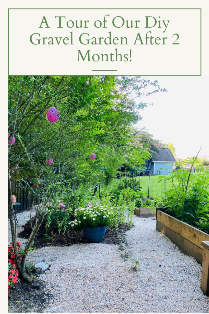 Happy July 4th and A Tour of  Our DIY Garden Tour