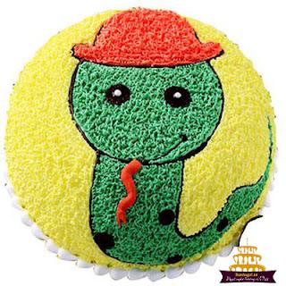 Bánh-sinh-nhật-hình-con-rắn-đẹp-nhất