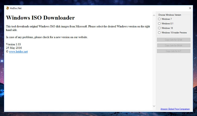 Cara Download File ISO Windows dari Server Microsoft