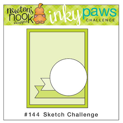 Newton's Nook Designs Inky Paws Challenge - Sketch Challenge