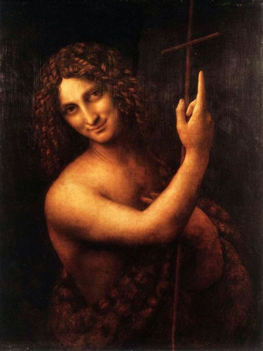 Saint John the Baptist by Leonardo