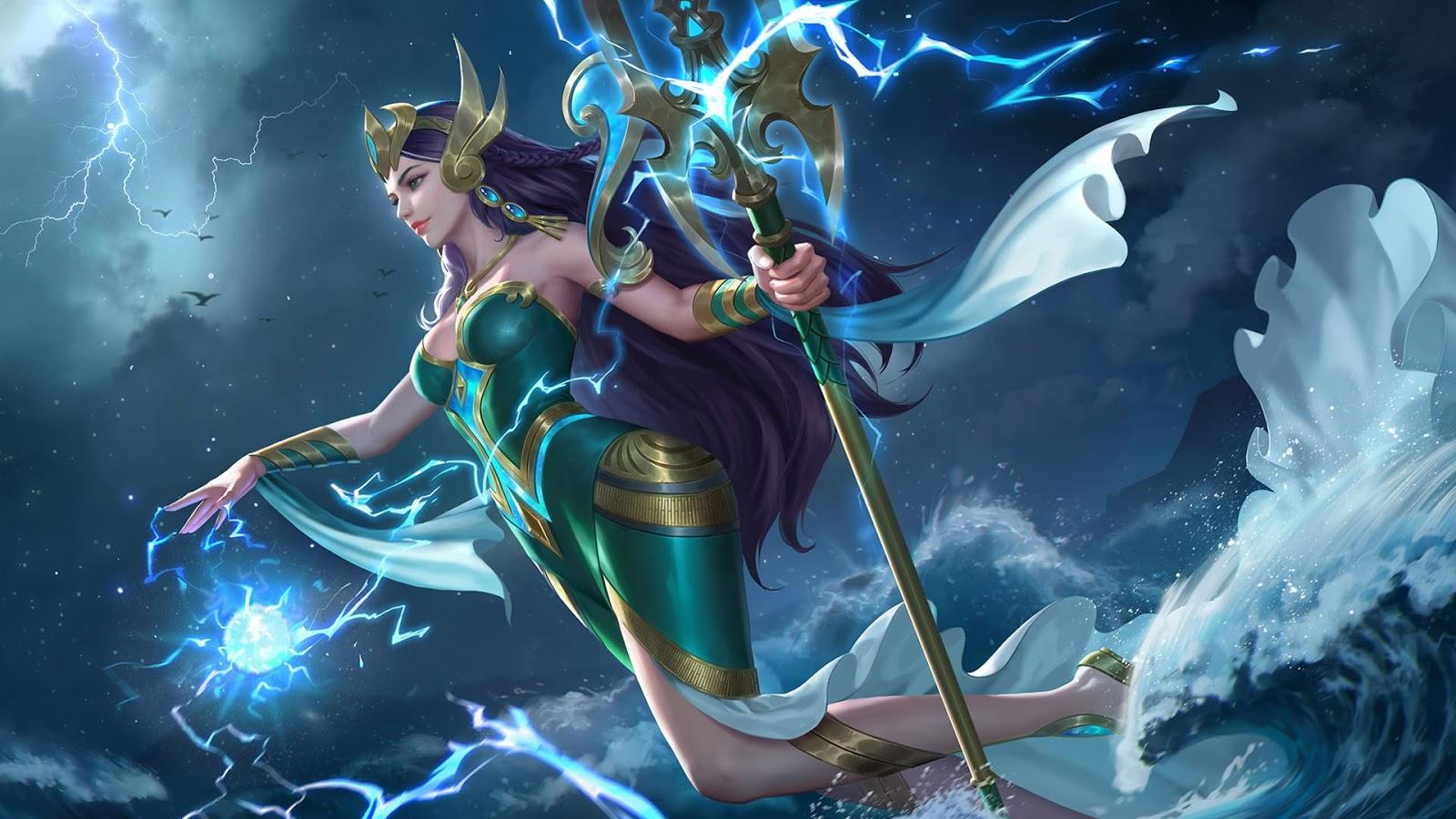 Wallpaper Kadita Ocean Goddess Skin Mobile Legends HD for PC