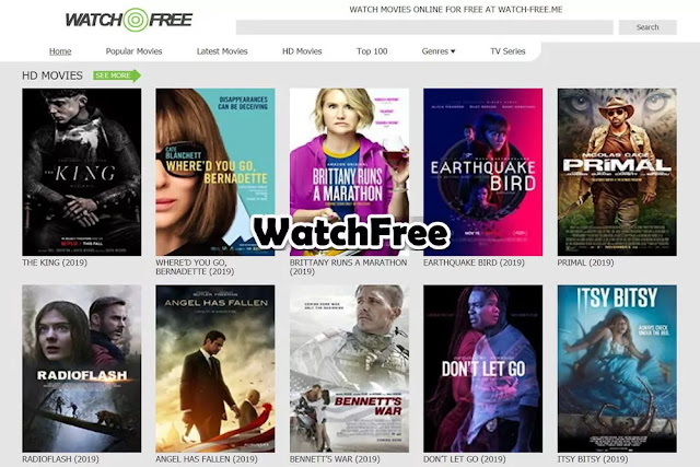 WatchFree : Free Movie Streaming Sites No Sign Up