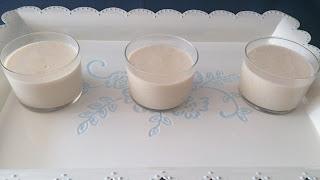 crema turrón chocolate blanco postre vasito individual navidad navideño receta reciclaje aprovechamiento dulce sencillo rico fácil rápido sin horno cuca