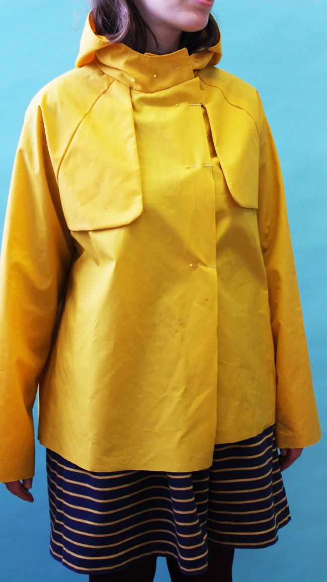 Fitting the Eden coat or jacket