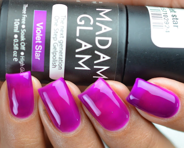 Madam glam Violet star