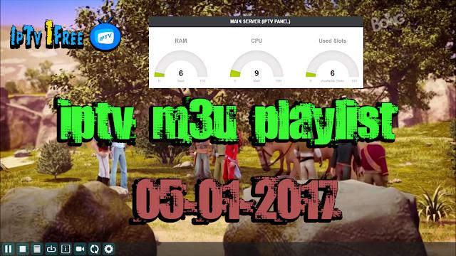 iptv m3u playlist 05-01-2017