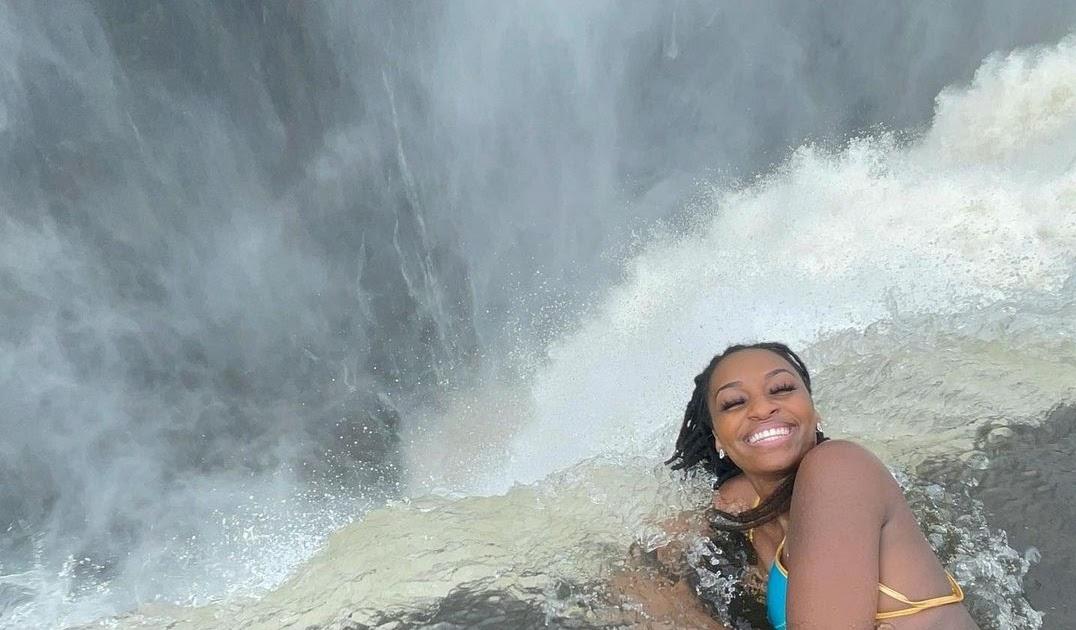 वीडियो: लड़की ने 1640 फीट गहरे झरने पर करवाया ऐसा फोटोशूट, देखकर किसी का भी दिल मुंह में आ जाए!